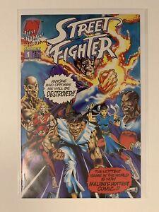 STREET FIGHTER #1 MALIBU F-VF