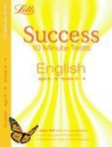 English Age 8-9: 10-Minute Tests Letts Key Stage 2 Success, Sats & 11+ practice
