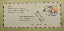 DR WHO 1962 HONDURAS TEGUCIGALPA TO USA AIR MAIL SPECIAL DELIVERY C41451