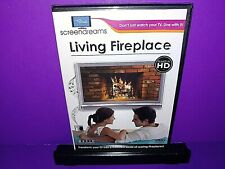 Living Fireplace HD (DVD, 2008) Brand New B510