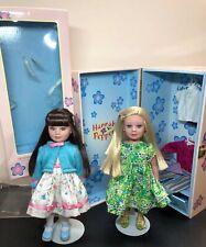 "10""Madame Alexander Hannah Pepper Trunk Set Outfits & Sophie 2 Dolls Adorable"