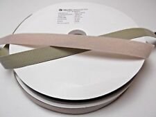 25M x 20mm Genuine VELCRO Hook  Sew On Tape Beige - VEL-LOC Extra Strong Closure