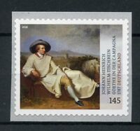 Germany 2018 MNH Johann Tischbein Goethe in Campagna 1v S/A Art Paintings Stamps