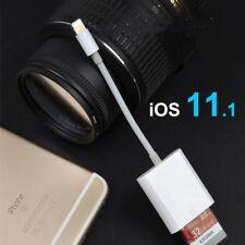 For Lightning Card Reader Portable Camera SD Card Reader