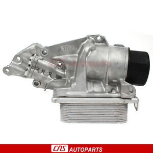 Engine Oil Filter Housing w/ Cooler 2721800510 06-12 Mercedes-Benz C G S Series