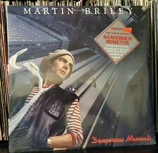 MARTIN BRILEY Dangerous Moments hype sticker GREENSLADE related  SEALED b Lp