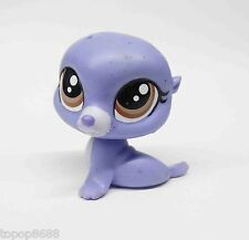 Littlest Pet Shop LPS Sealy Pinney, the seal (#58) figure