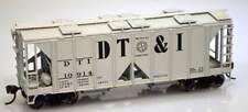 Bowser DT&I 70 Ton 2-Bay Covered Hopper Cars KITS  (3 car set / 3 car #s) NIB