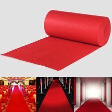 10m/20m Large Red Carpet Wedding Aisle Floor Runner Hollywood Awards Party Decor