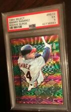 MANNY RAMIREZ ROOKIE RC 1994 SELECT #RS10  ROOKIE SURGE FOIL PSA 5 VERY RARE