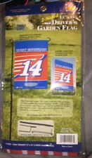 "NASCAR Tony Stewart #14 2-Sided Garden and Yard Flag (13"" x 18"") 2016"