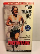 Prefontaine RARE VHS Demo Tape Screener Running Sports Movie Hollywood Pictures