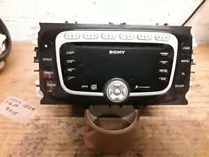Ford Mondeo Mk4 Titanium Sony DAB MP3 CD RADIO 6CD CHANGER.