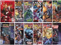 Suicide Squad #1 9 10 12 15-19 25 26 28 29 1 Harley Quinn 2011 LOT 14 DC Comics