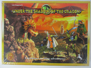 UNDER THE SHADOW OF THE DRAGON Fantasy Board Game SEALED NEW!!