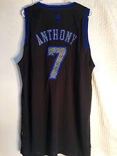 Adidas Swingman NBA Jersey Knicks Carmelo Anthony Black Static sz 2X