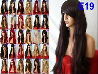 Wig Natural Curly Straight Wavy Fancy Dress Fashion Womens Ladies Hair Wig