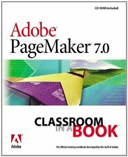 Adobe PageMaker 7.0 Classroom in ... by Adobe Creative Team, Mixed media product