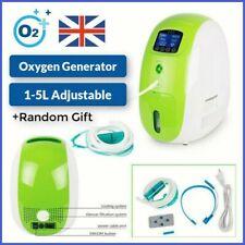 Reino Unido Concentrador de oxígeno portátil 220V 1-5L/min generador de oxígeno de control remoto