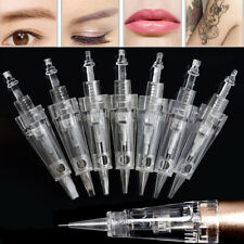 50pcs Dr pen mym pen Bayonet Cartridge Needle tattoo needle for makeup eyebrow