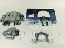 brand new star wars esb hoth ice planet backdrop supports body head