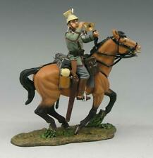 King & Country FW036 Mtd Uhlan Trumpeter Calling Charge - RETIRED - Mint in Box