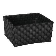 HANDED por caja Limoges CANASTO Gris Oscuro Gris Negro Decoración CAJETILLA