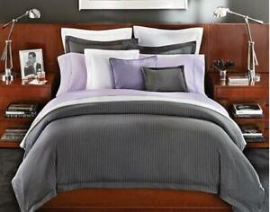Ralph Lauren Home Grey Haberdashery Bedding 7 pc Set NWT $1095