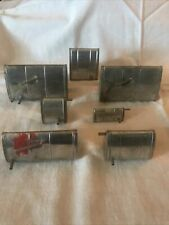 Lot Of 7 Vintage Perfect Brand R/C Model Airplane Gas Fuel Tanks