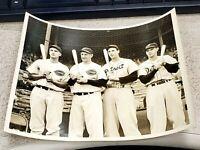 McCormick, Lombardi, Greenberg - Vintage Type 1 Wire Press Photo - RARE