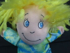 DANDEE KOOL KIDS DARE TO BE DIFFERENT GIRL BLONDE HAIR TIE-DYE SHIRT PLUSH
