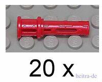 LEGO Technik - 20 x Pin mit Stopper rot / Pins / 32054 NEUWARE