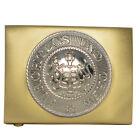 WW1 Wurttemberg Belt Buckle - Repro German Army Heer Uniform Soldier Brass New