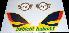 1 Satz Aufkleber Simson Habicht, SR 4-4, Neu, Suhl, DDR, Geschenk, Frühling