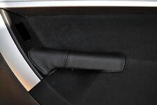 BLACK Stitch accoppiamenti CITROEN C4 GRAND PICASSO 2006-2013 2x posteriore porta maniglia cover