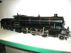 Locomotive a VAPEUR VIVE 130 fabrication BASSETT LOWKE échelle 0 très bon état