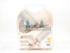 Nokya H3C Cosmic White Headlight Pro Halogen Light Bulbs Twin Pack 5000K NEW