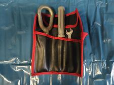 BMW 3er E46 Bordwerkzeug Aufbewahrung Werkzeug Tasche Leder inkl. Inhalt