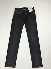 Beschaffungsrichtlinie 257 € Diesel Damen Getlegg Slim Skinny Low Waist 0601C Jeans W25 L32 schwarz
