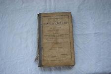 COURS PRATIQUE LANGUE ANGLAISE - ADDISON 1893 15e édition
