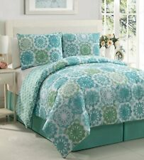 Victoria Classics Isadora 9-Piece Polyester Comforter X-Long Twin Bed Set 66x92