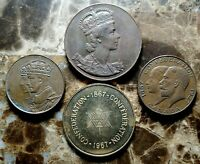Canada (1927 - 1967) Set of Four Collectible Medallions!!