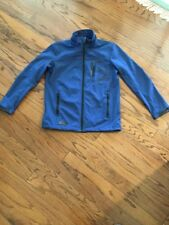 Point Zero MEN  PZDNM SERIES POLY/SPANDEX Blue SOFT SHELL COAT JACKET SIZE S
