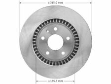 For 2005-2007 Ford Freestyle Brake Rotor Front Bendix 58995YH 2006