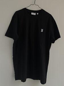 Burberry T Shirt Black Logo Size XL