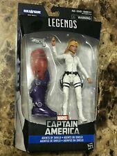 Marvel Legends Series Captain America Agents Shield Sharon Carter Red Skull BAF