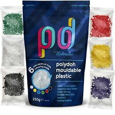 Polydoh mouldable plastic 250g | polymorph plastimake instamorph thermoplastic
