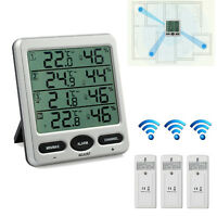 Weather Thermometer Hygrometer Temperature humidity Meter Remote Sensor Wireless