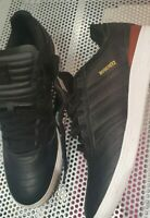 BRAND NEW ADIDAS BUSENITZ CLASSIFIED BLACK LEATHER SKATE SKATEBOARDING SIZE 12UK