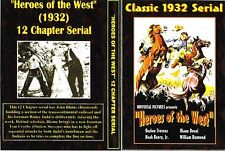 HEROES OF THE WEST Cliffhanger Chapter Serial